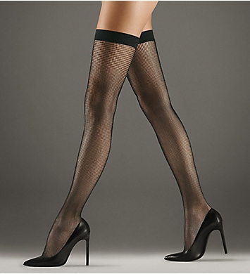 Wolford Grid Stay Ups