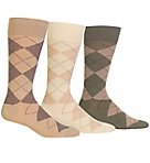 Classic Argyle Cotton Socks - 3 Pack