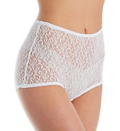 Teri 3 Pack Basic Lace Full Cut Brief Panties 308