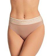 Warner's No Pinching. No Problems. Hi-Cut Panty with Lace RT7401P